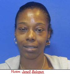 Information Sought, Homicide of Janell Balogun – Oella, Baltimore County, Maryland