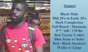 Suspect wanted for Family Dollar robbery